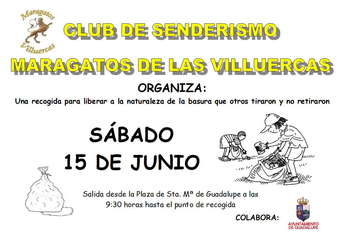 Recogida de basura junio 2019 - Guadalupe (Cáceres)