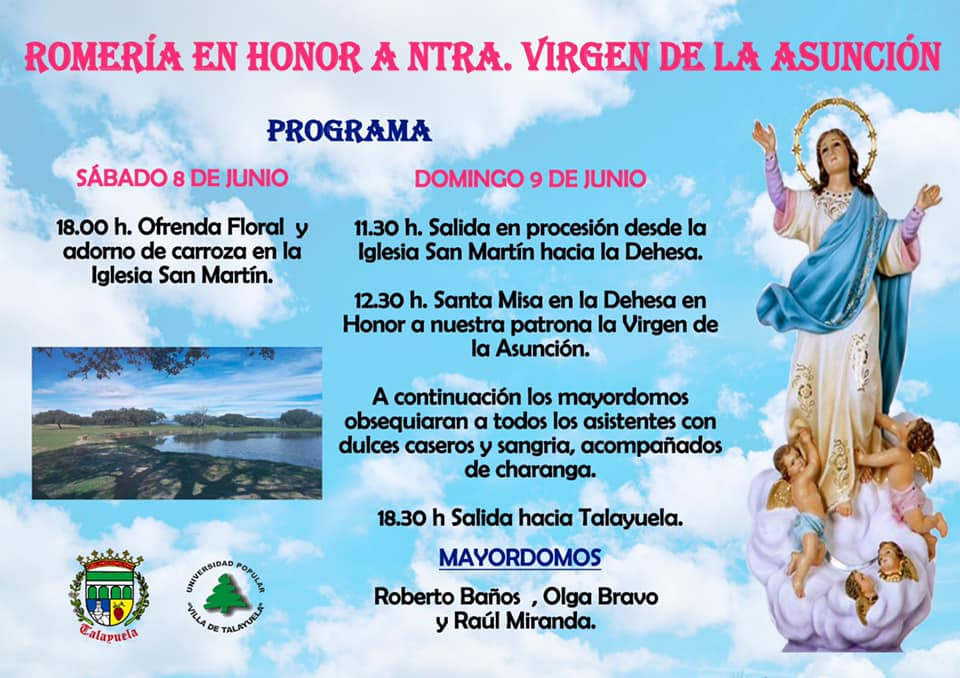Romería de la Virgen de la Asunción 2019 - Talayuela (Cáceres)