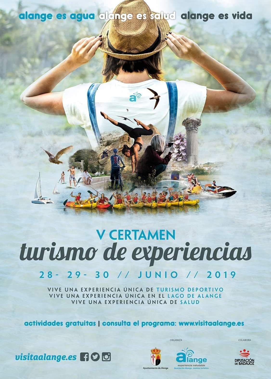 V Certamen de turismo de experiencias - Alange (Badajoz)