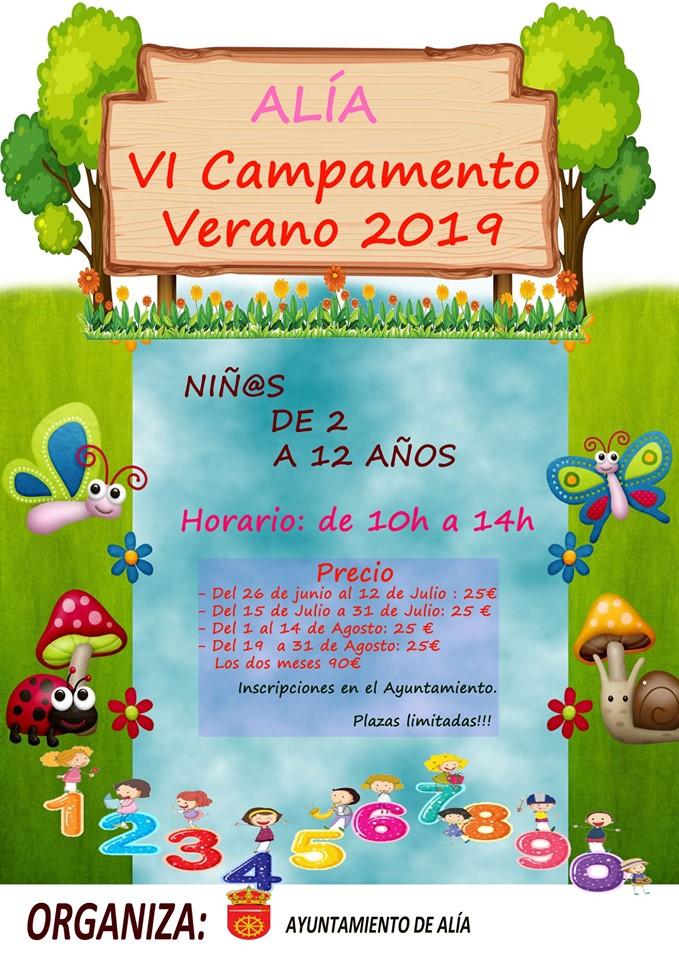 VI Campamento de verano - Alía (Cáceres)