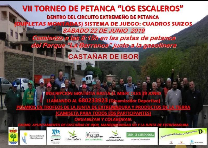 VII Torneo de petanca - Castañar de Ibor (Cáceres)