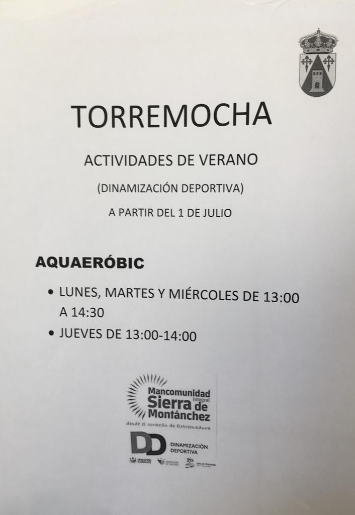 Aquaeróbic 2019 - Torremocha (Cáceres)