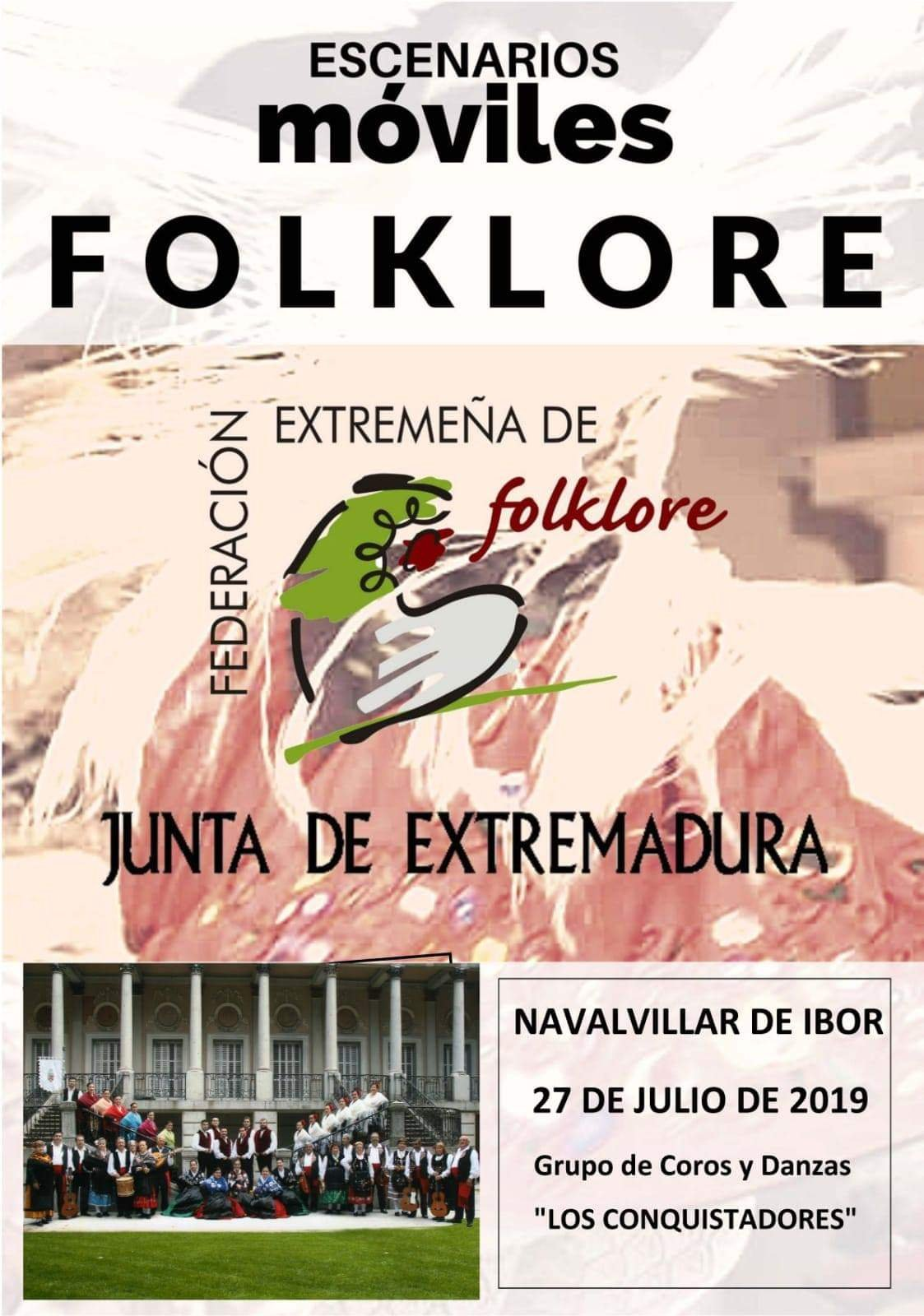 Escenarios móviles folklore 2019 - Navalvillar de Ibor (Cáceres)
