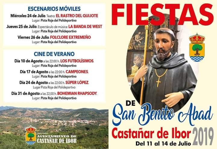 Fiestas de San Benito Abad 2019 - Castañar de Ibor (Cáceres)