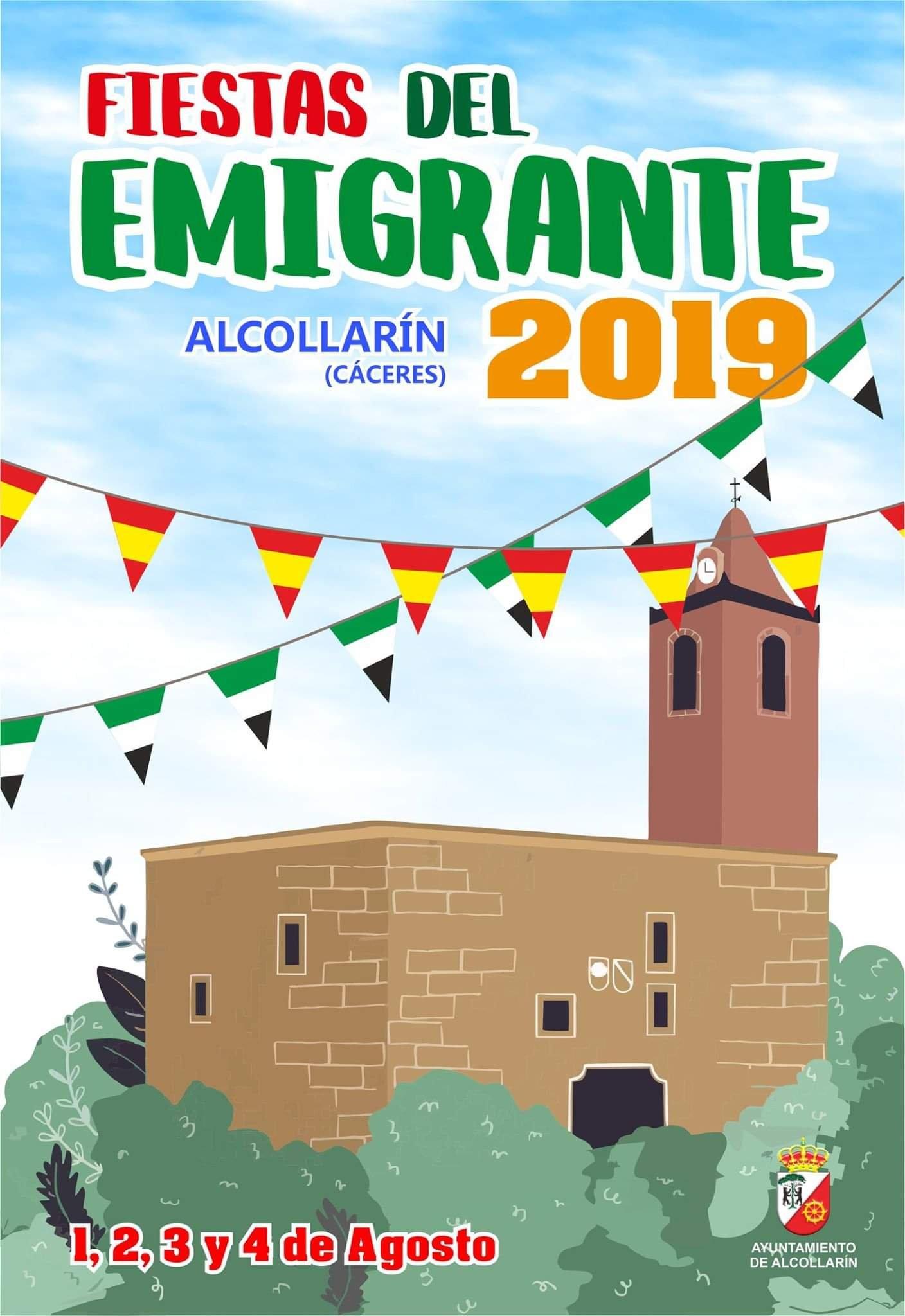 Fiestas del Emigrante 2019 - Alcollarín (Cáceres) 1