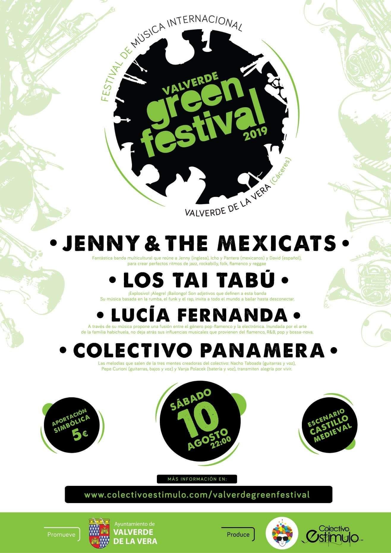Green festival 2019 - Valverde de la Vera (Cáceres)