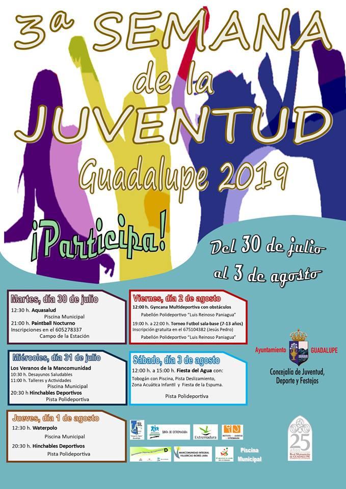 III Semana de la juventud - Guadalupe (Cáceres)