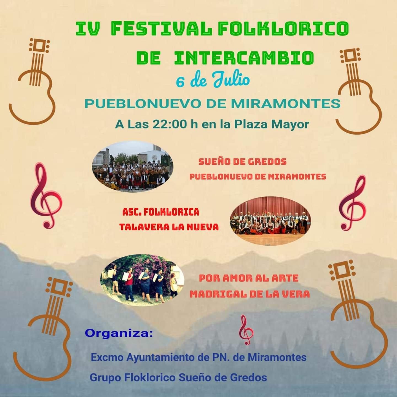 IV Festival folklórico de intercambio - Pueblonuevo de Miramontes (Cáceres)