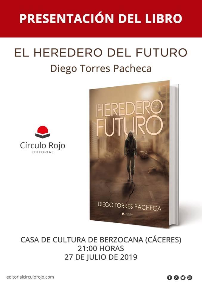 Presentación del libro El Heredero del Futuro - Berzocana (Cáceres)