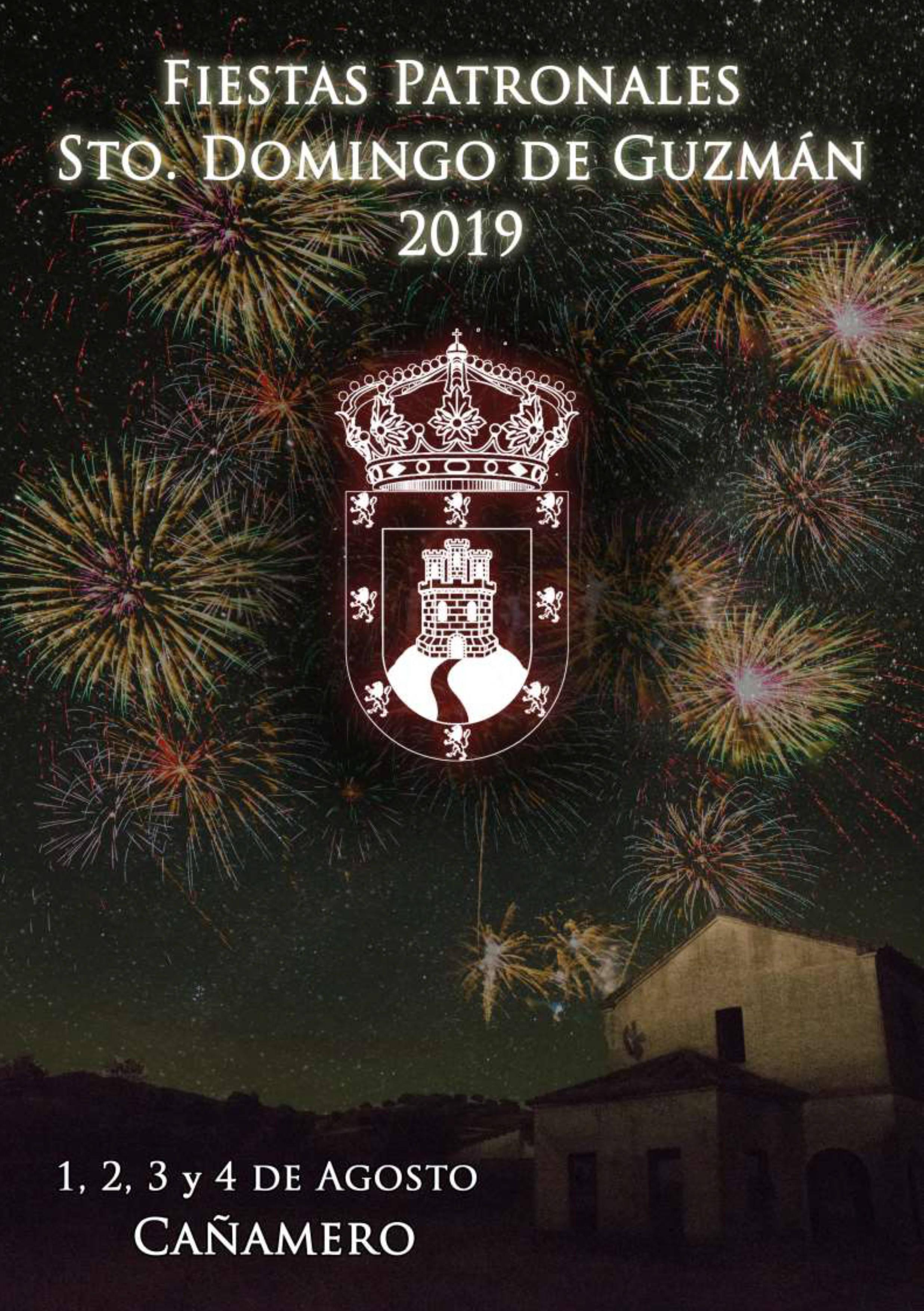 Programa de fiestas patronales 2019 - Cañamero (Cáceres) 1
