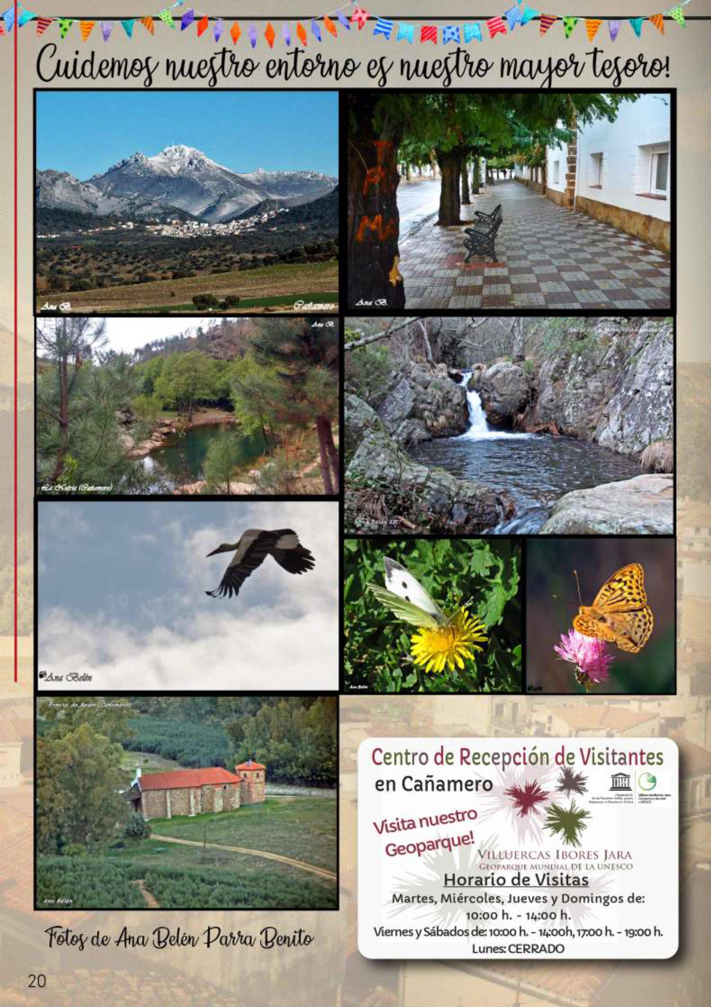 Programa de fiestas patronales 2019 - Cañamero (Cáceres) 13