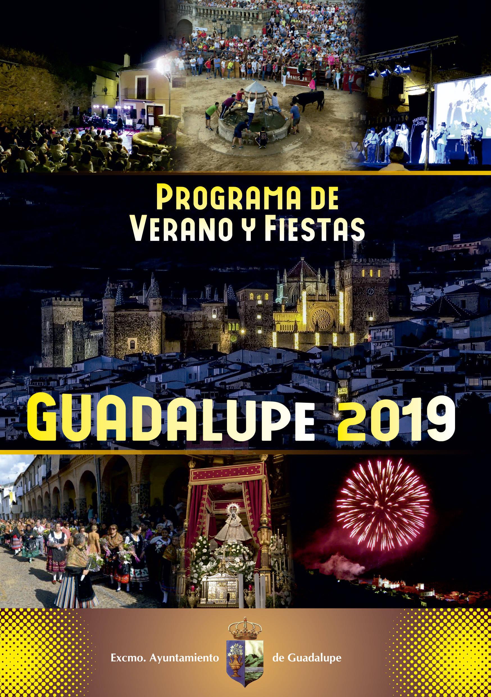 Programa de verano y fiestas 2019 - Guadalupe (Cáceres) 1