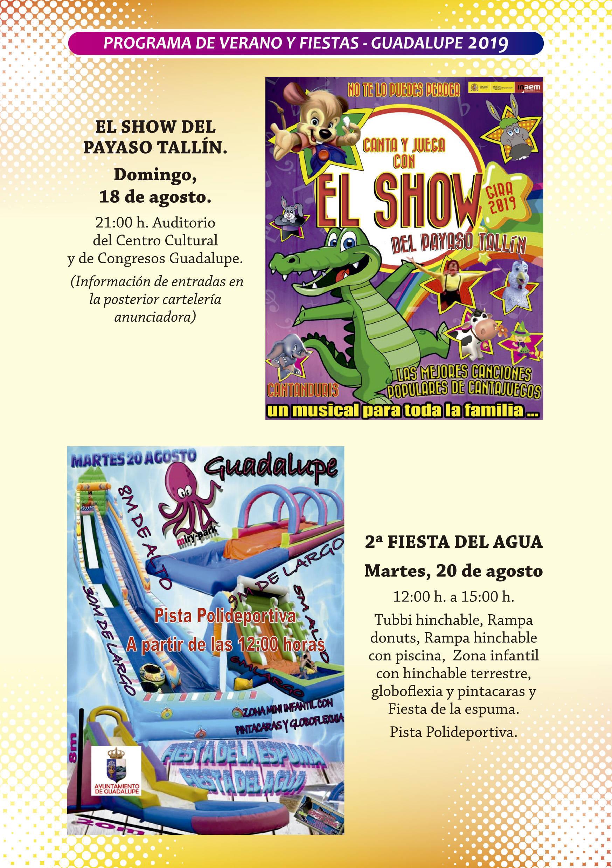 Programa de verano y fiestas 2019 - Guadalupe (Cáceres) 10