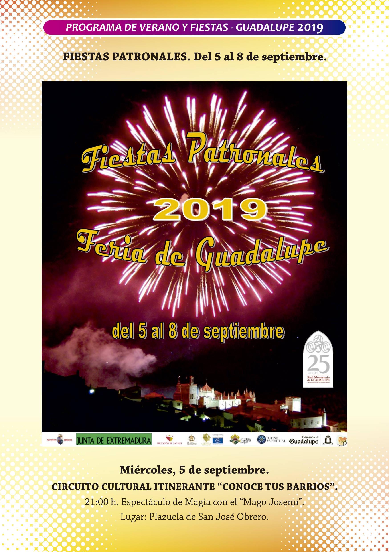 Programa de verano y fiestas 2019 - Guadalupe (Cáceres) 12