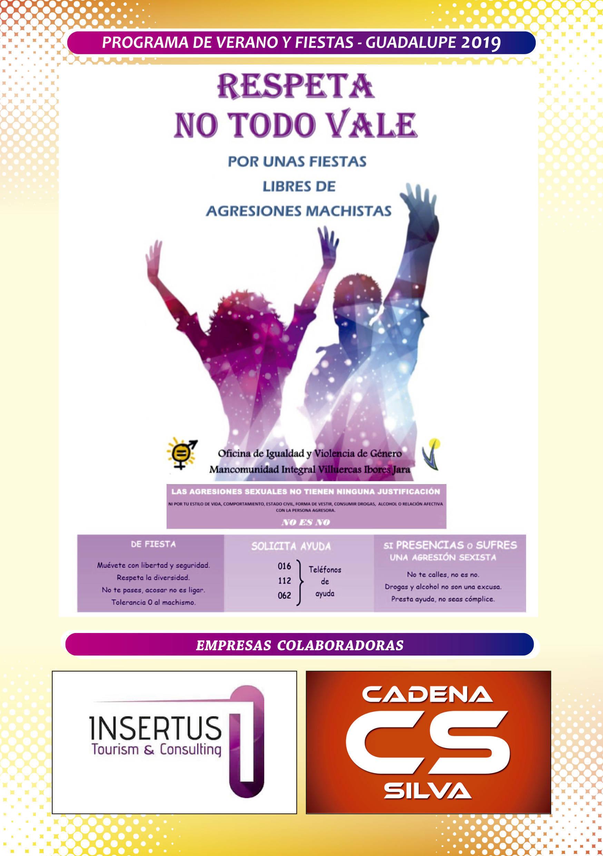 Programa de verano y fiestas 2019 - Guadalupe (Cáceres) 14