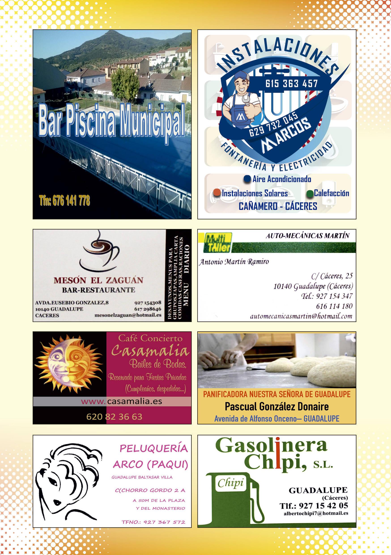Programa de verano y fiestas 2019 - Guadalupe (Cáceres) 15