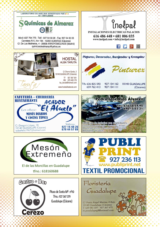 Programa de verano y fiestas 2019 - Guadalupe (Cáceres) 17