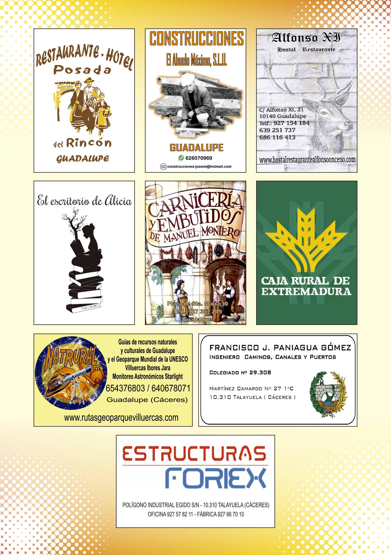 Programa de verano y fiestas 2019 - Guadalupe (Cáceres) 19