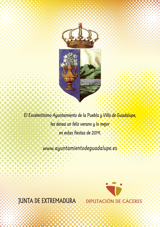 Programa de verano y fiestas 2019 - Guadalupe (Cáceres) 20