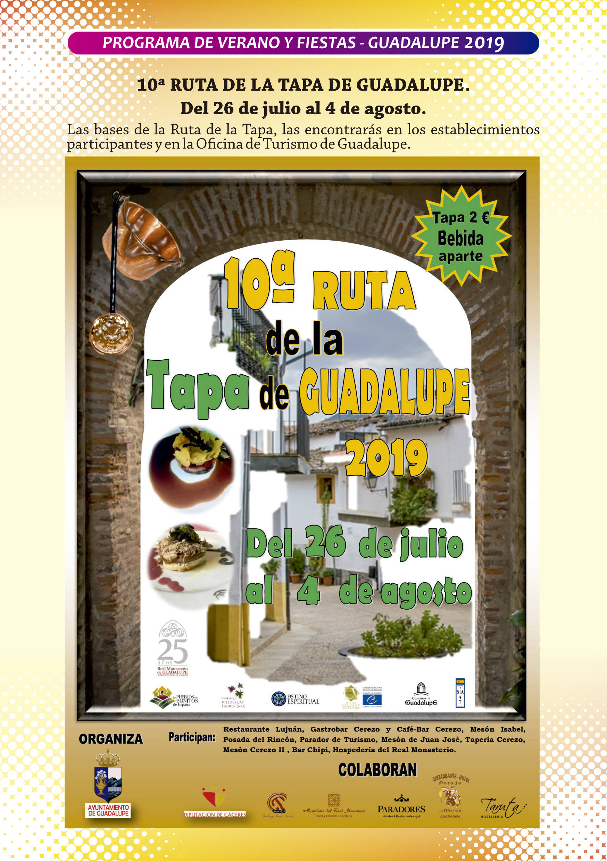 Programa de verano y fiestas 2019 - Guadalupe (Cáceres) 4