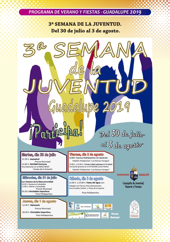 Programa de verano y fiestas 2019 - Guadalupe (Cáceres) 5
