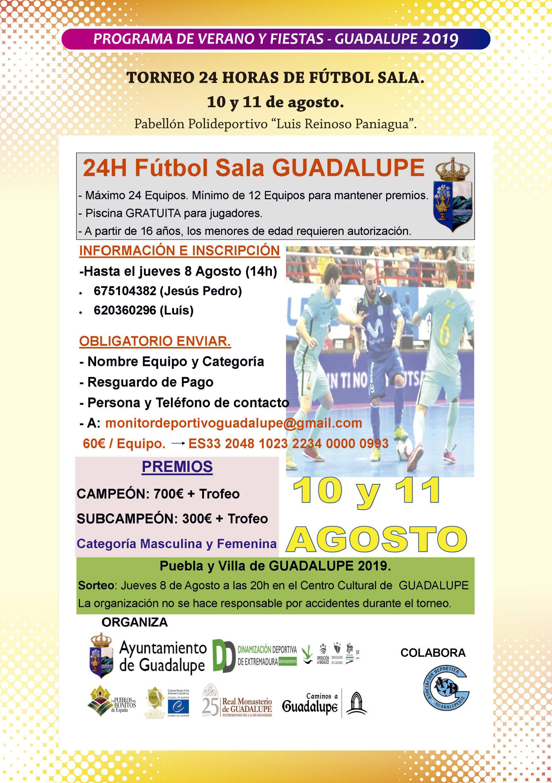 Programa de verano y fiestas 2019 - Guadalupe (Cáceres) 8