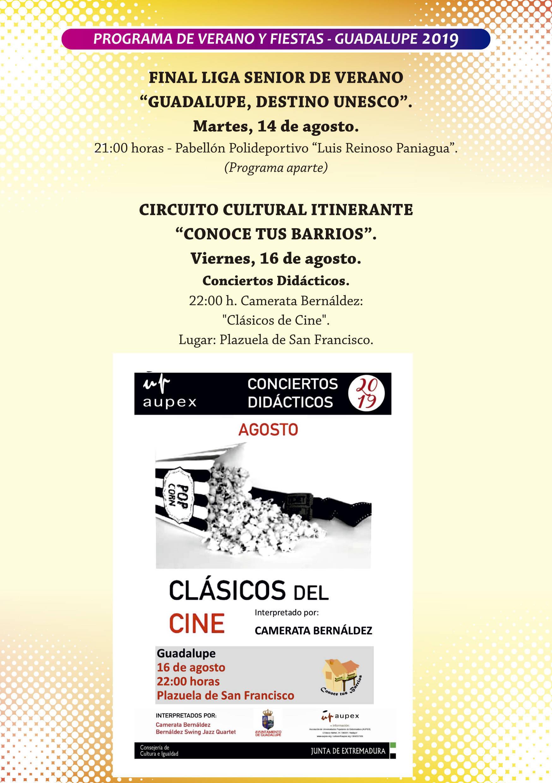 Programa de verano y fiestas 2019 - Guadalupe (Cáceres) 9