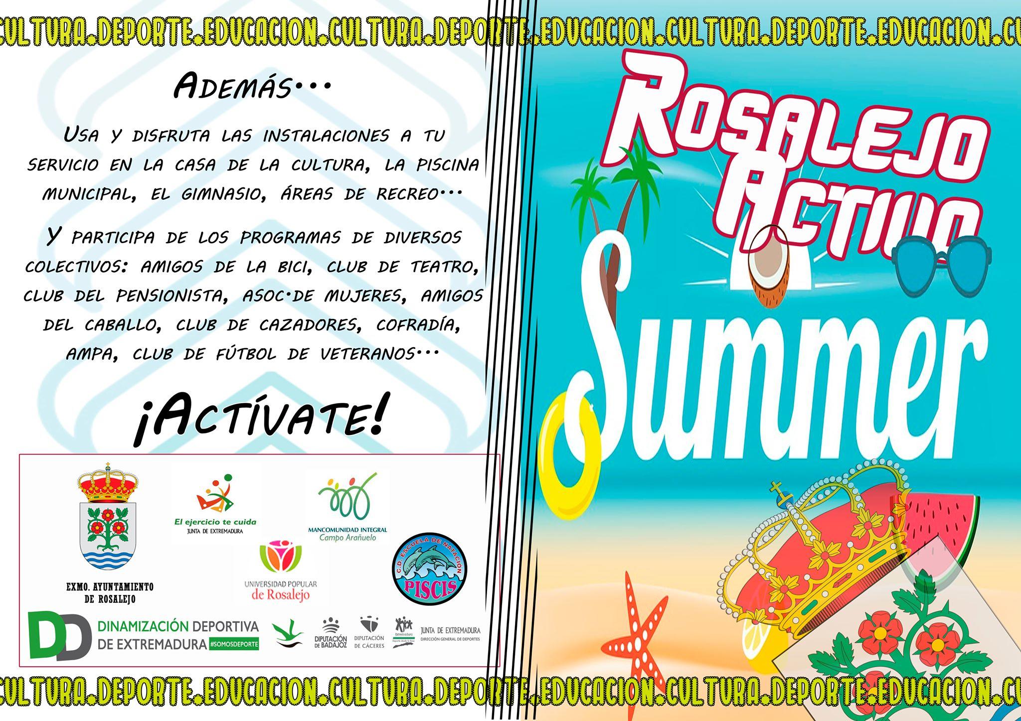 Rosalejo activo summer 2019 1