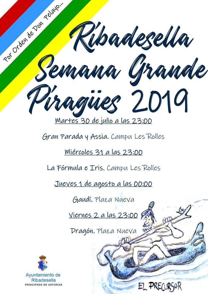 Semana grande de piragües 2019 - Ribadesella (Asturias)