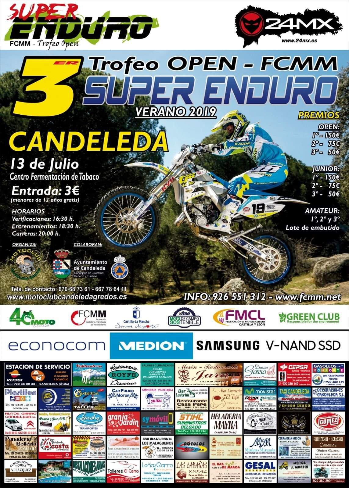Super Enduro 2019 - Candeleda (Ávila)