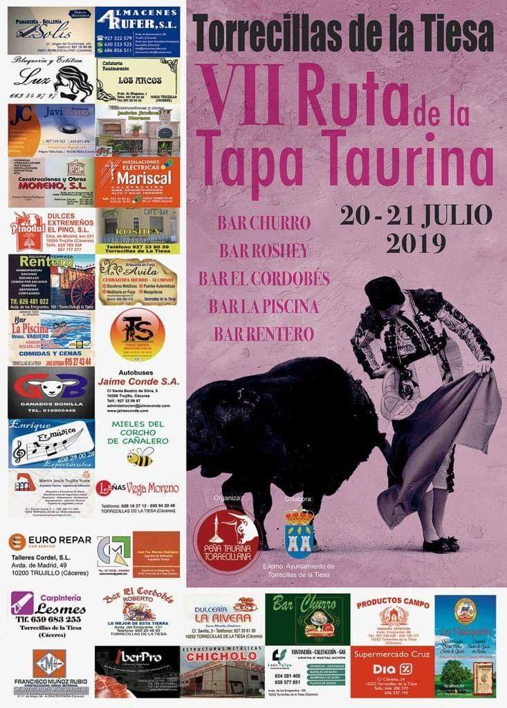 VII Ruta de la tapa taurina - Torrecillas de la Tiesa (Cáceres)