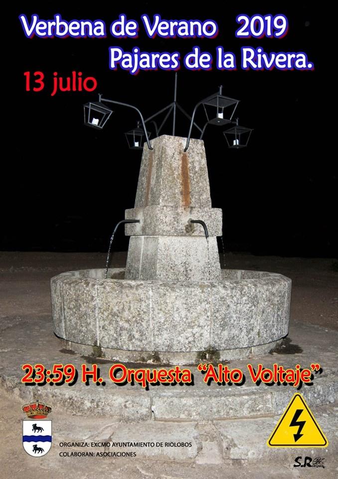 Verbena de verano 2019 - Riolobos (Cáceres)