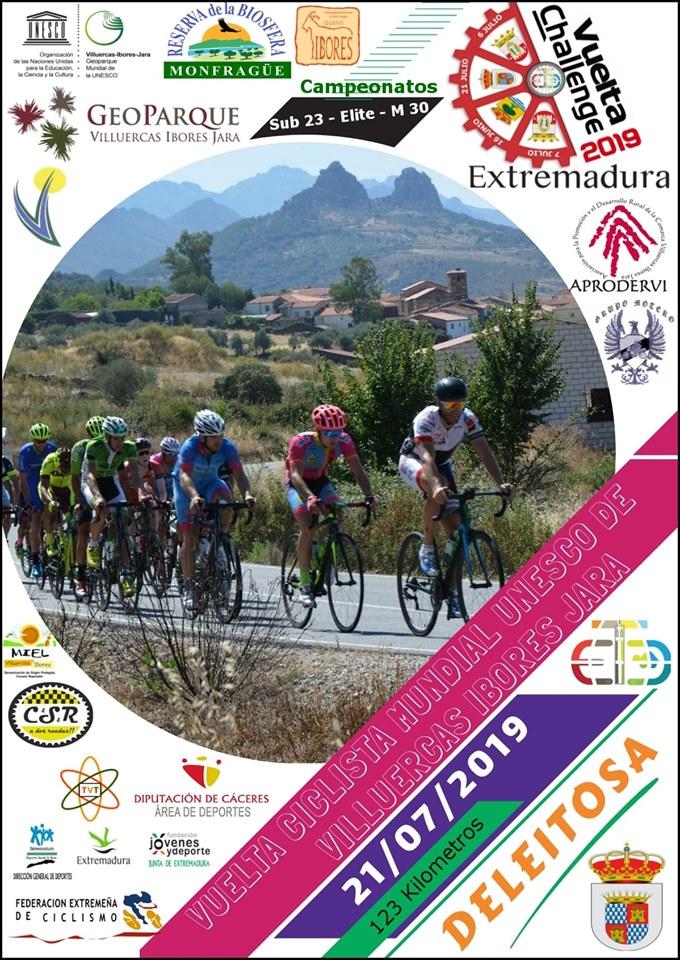 Vuelta ciclista mundial UNESCO de Villuercas Ibores Jara 2019 - Deleitosa (Cáceres)