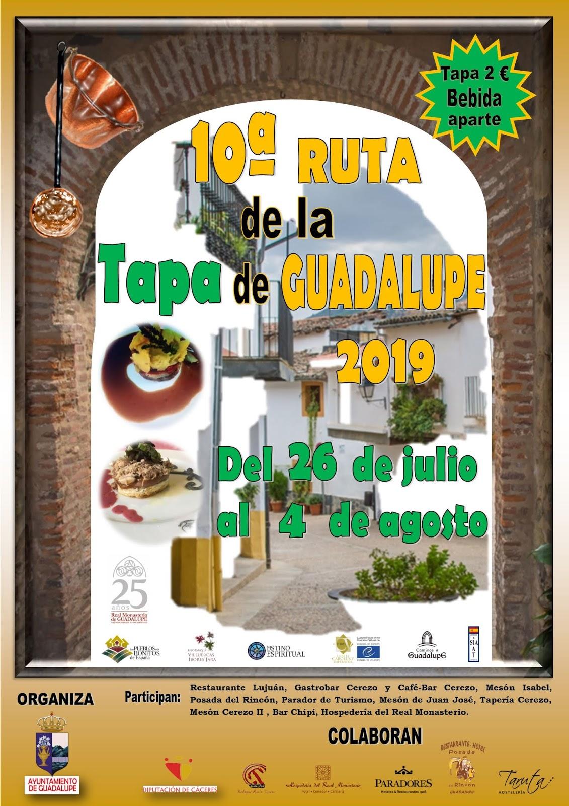 X Ruta de la tapa - Guadalupe (Cáceres) 1