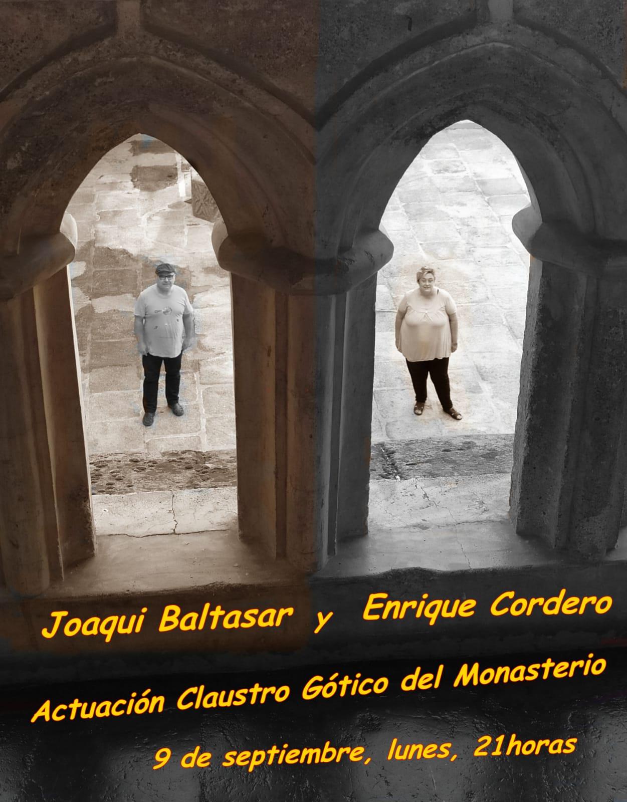 Actuación Joaqui Baltasar y Enrique Cordero septiembre 2019 - Guadalupe (Cáceres)