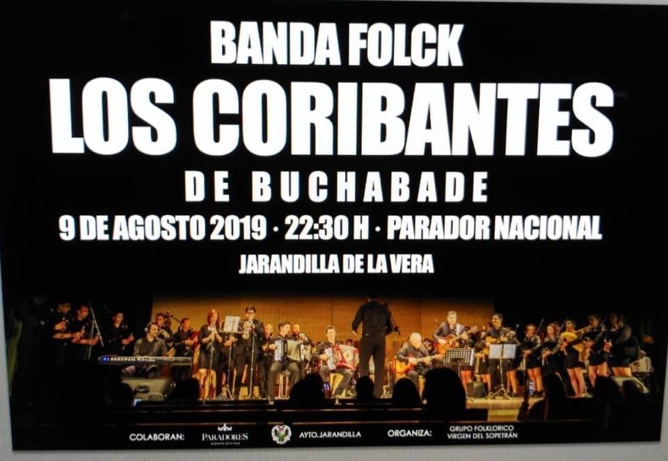 Banda folck Los Coribantes de Buchabade 2019 - Jarandilla de la Vera (Cáceres)