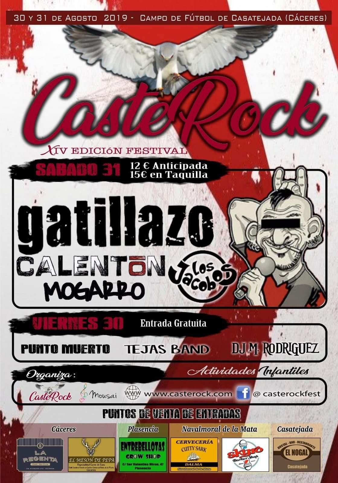 CasteRock 2019 - Casatejada (Cáceres)