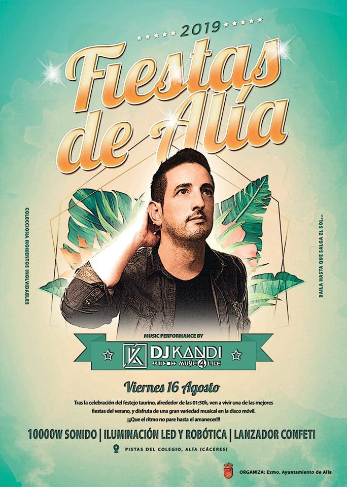 DJ Kandi 2019 - Alía (Cáceres)