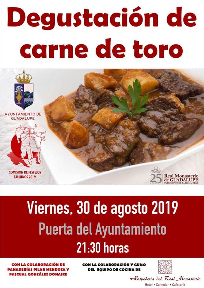 Degustación de carne de toro 2019 - Guadalupe (Cáceres)