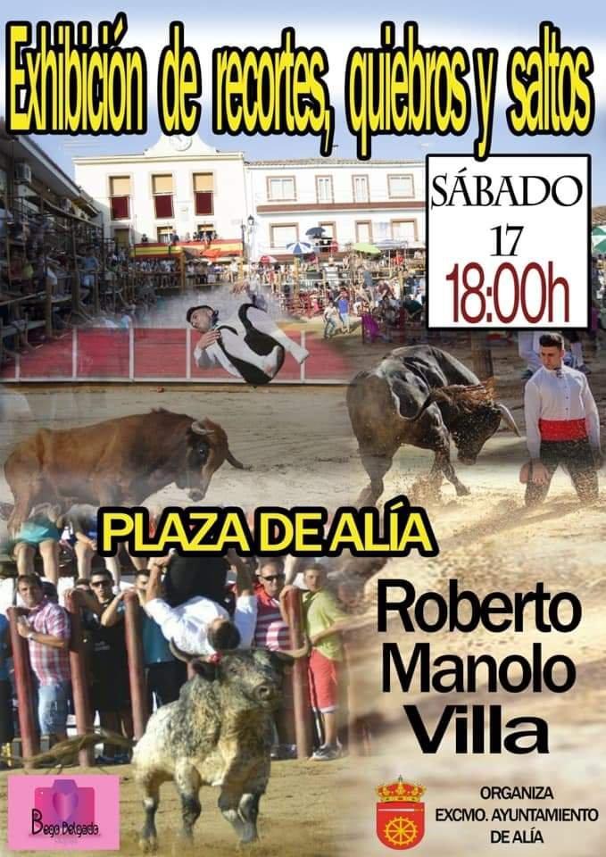 Exhibición de recortes, quiebros y saltos 2019 - Alía (Cáceres)