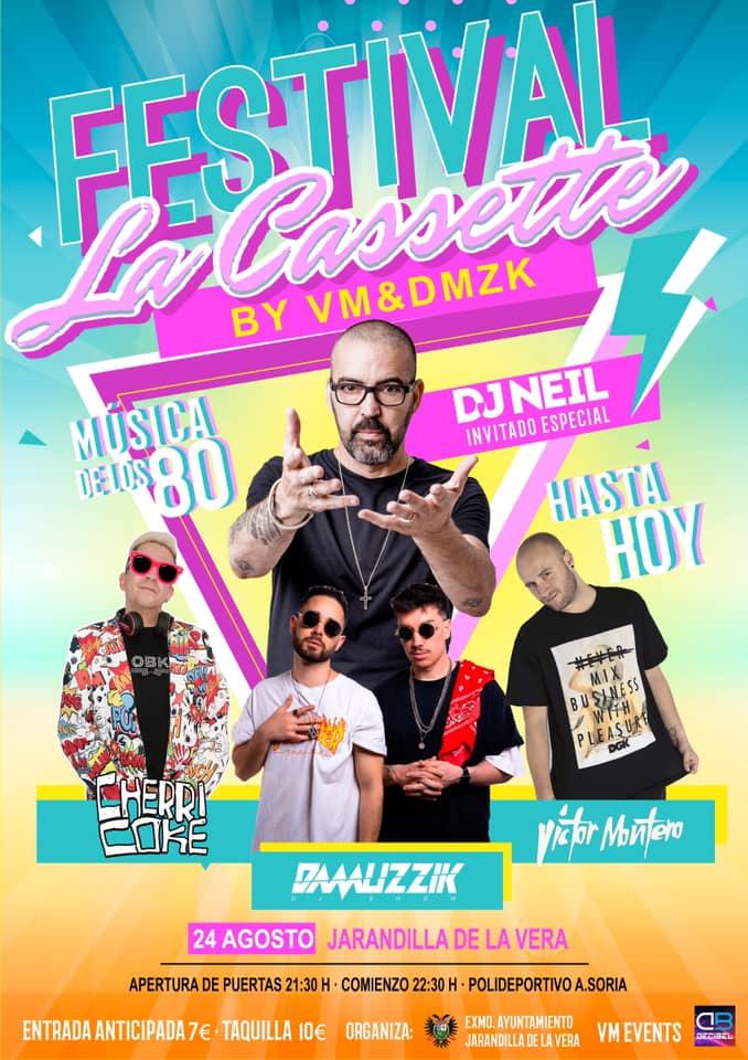 Festival La Cassette 2019 - Jarandilla de la Vera (Cáceres)
