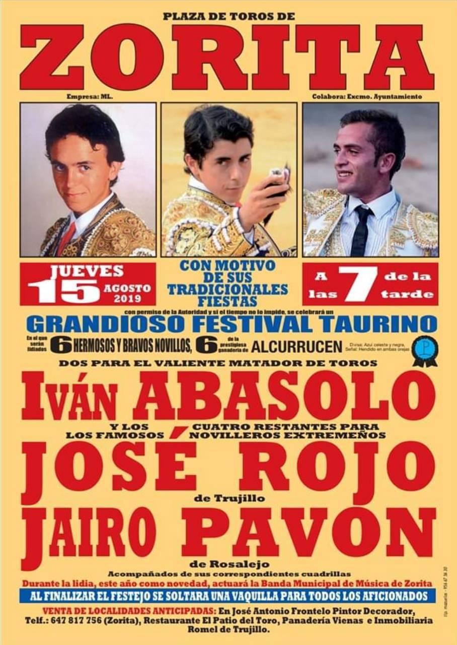 Festival taurino 2019 - Zorita (Cáceres)