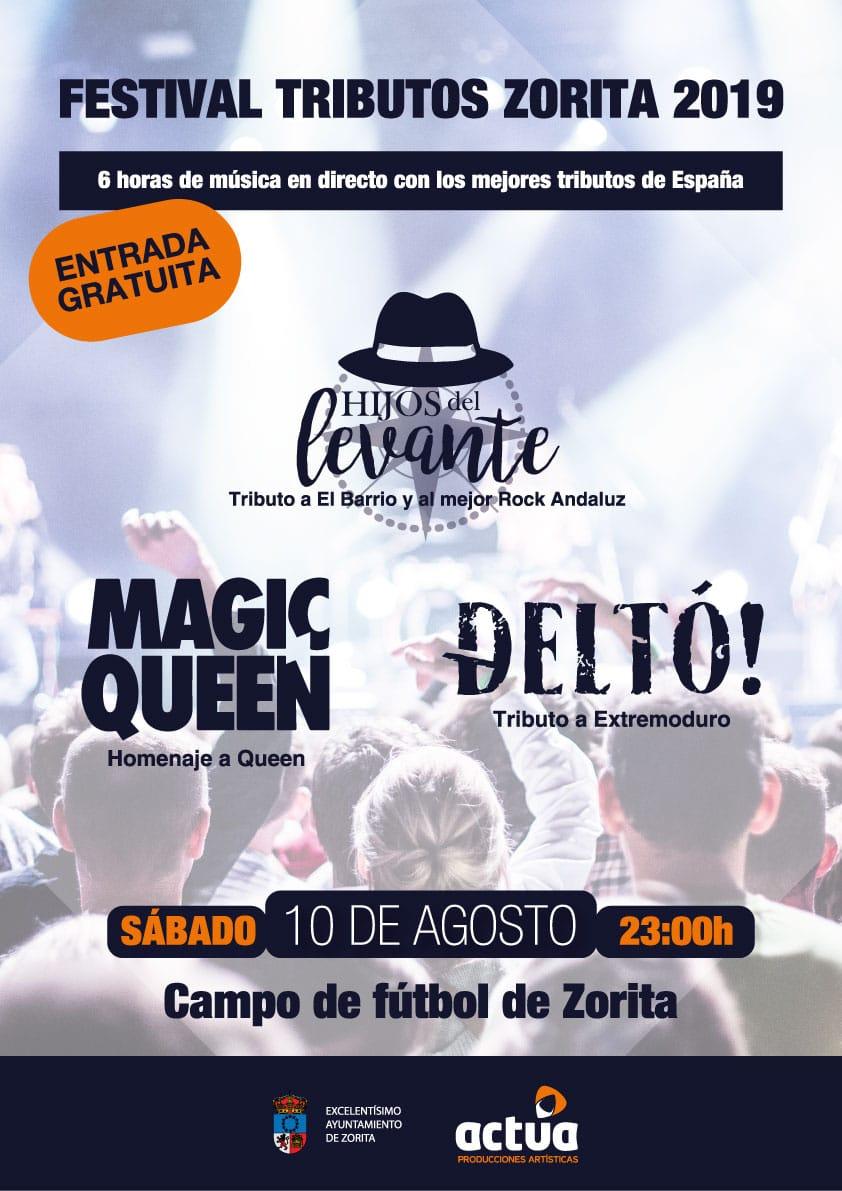 Festival tributos 2019 - Zorita (Cáceres)
