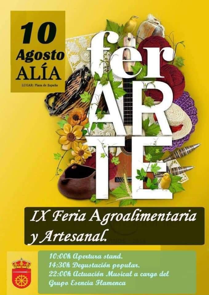 IX Feria agroalimentaria y artesanal - Alía (Cáceres)