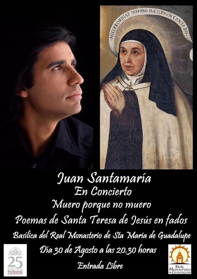 Juan Santamaría en concierto 2019 - Guadalupe (Cáceres)