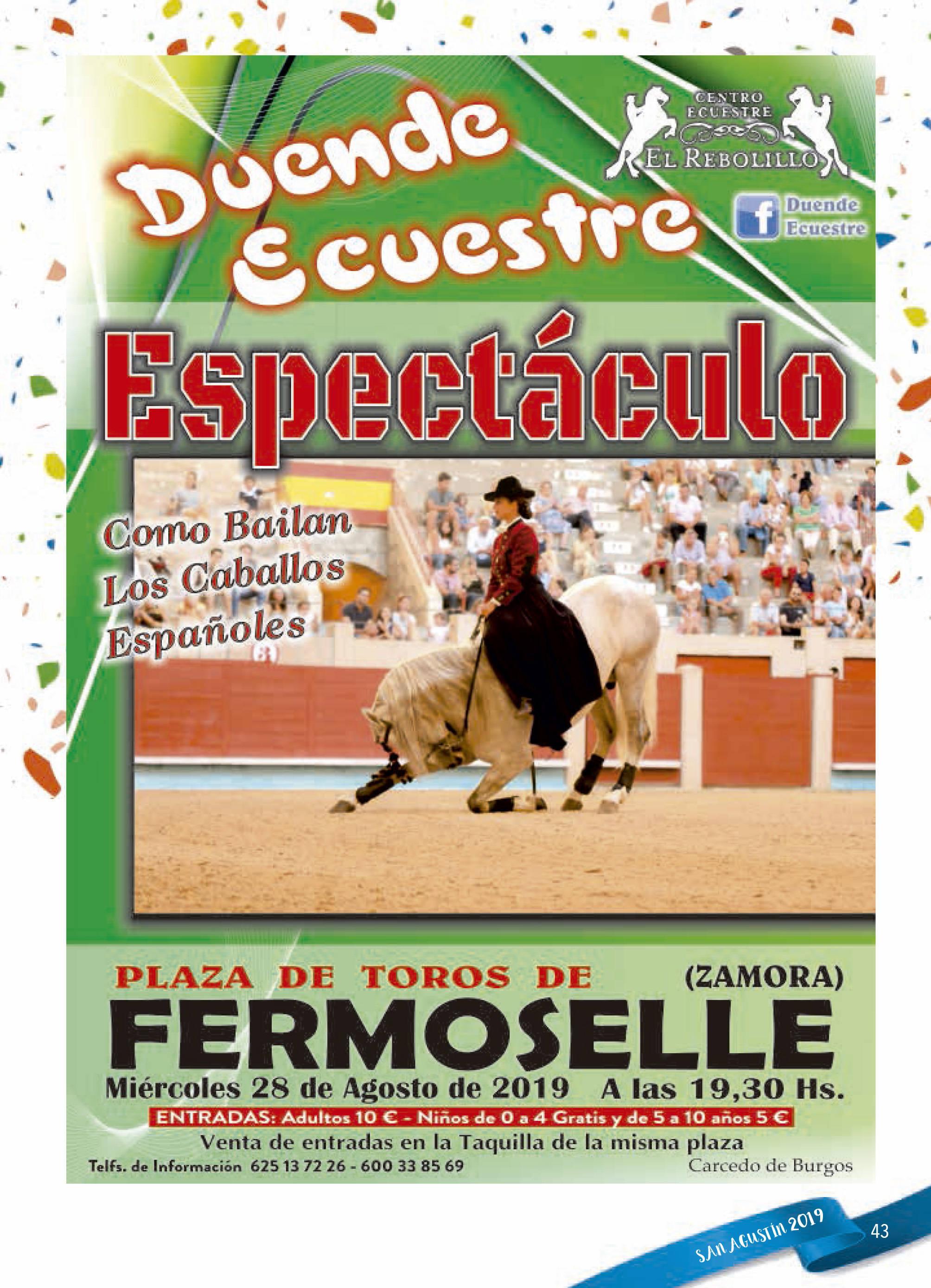 Programa de ferias y fiestas 2019 - Fermoselle (Zamora) 16
