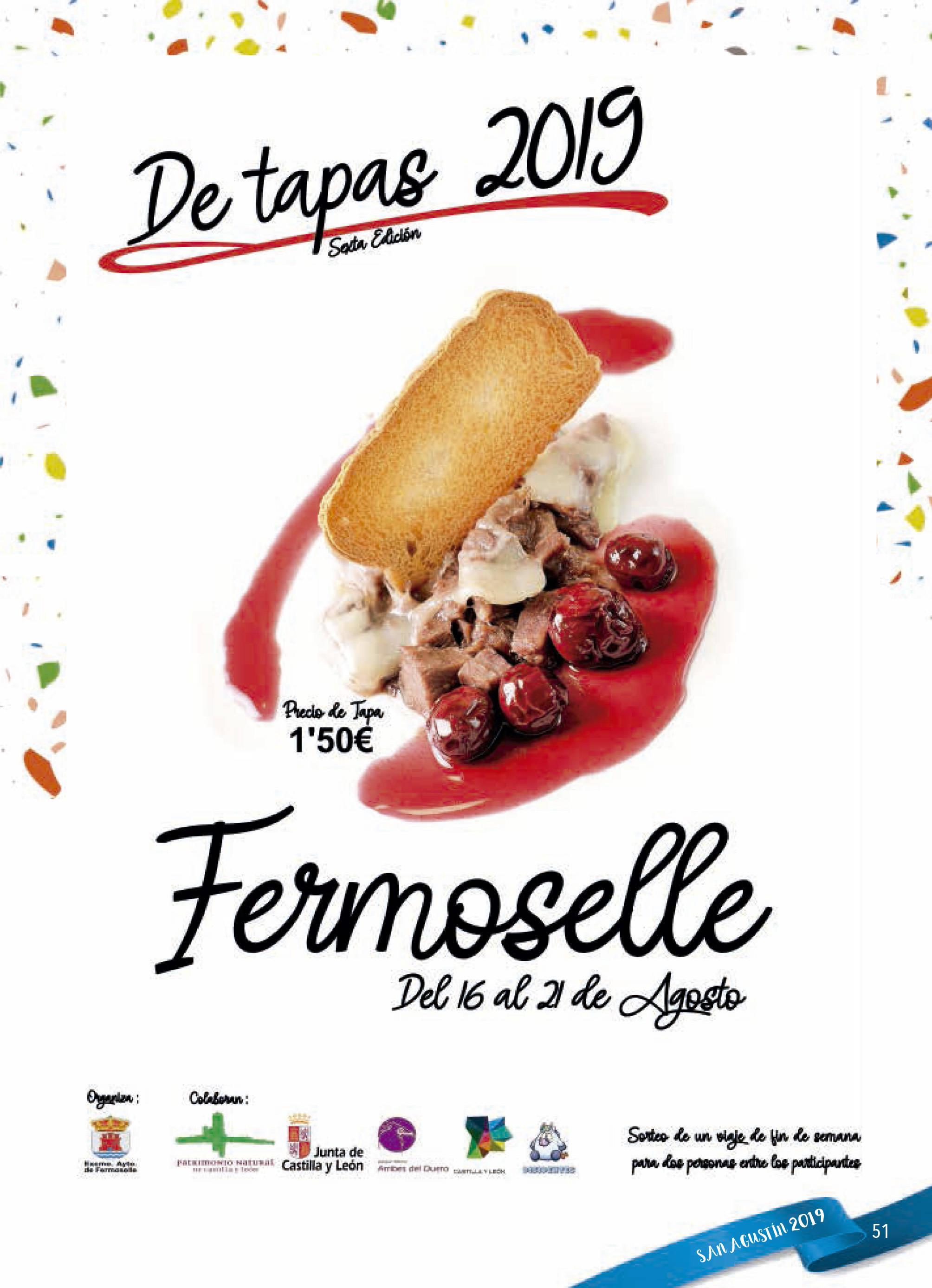 Programa de ferias y fiestas 2019 - Fermoselle (Zamora) 20