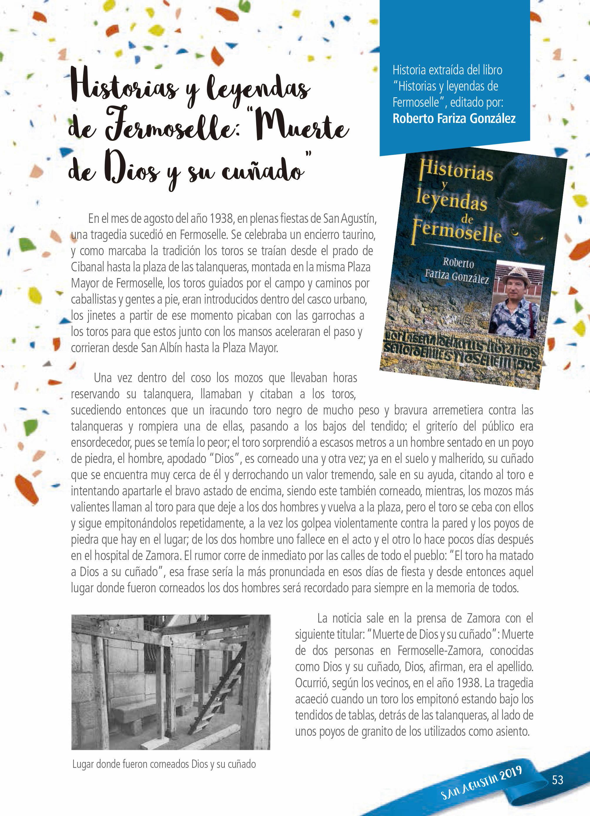 Programa de ferias y fiestas 2019 - Fermoselle (Zamora) 21