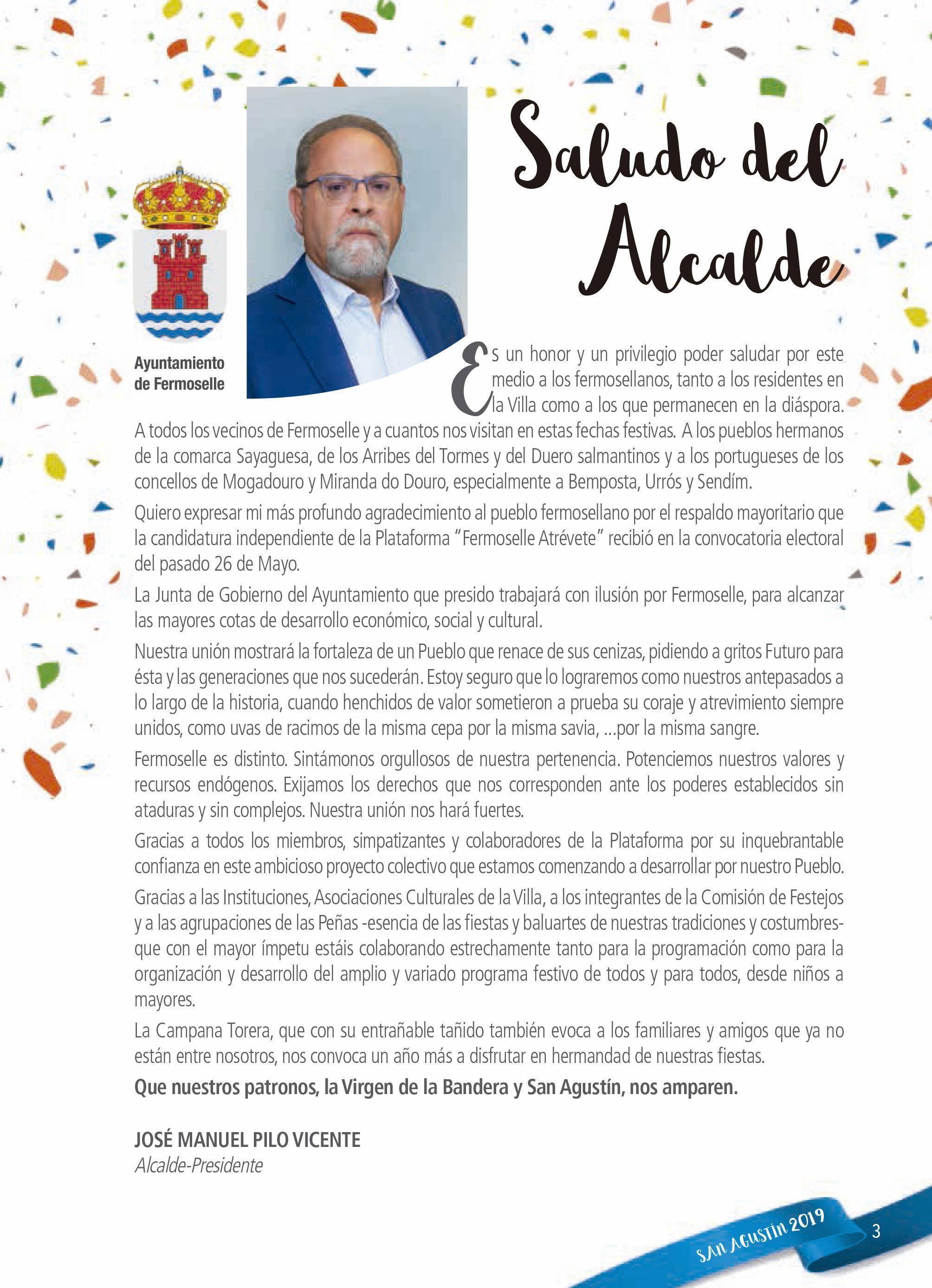 Programa de ferias y fiestas 2019 - Fermoselle (Zamora) 3