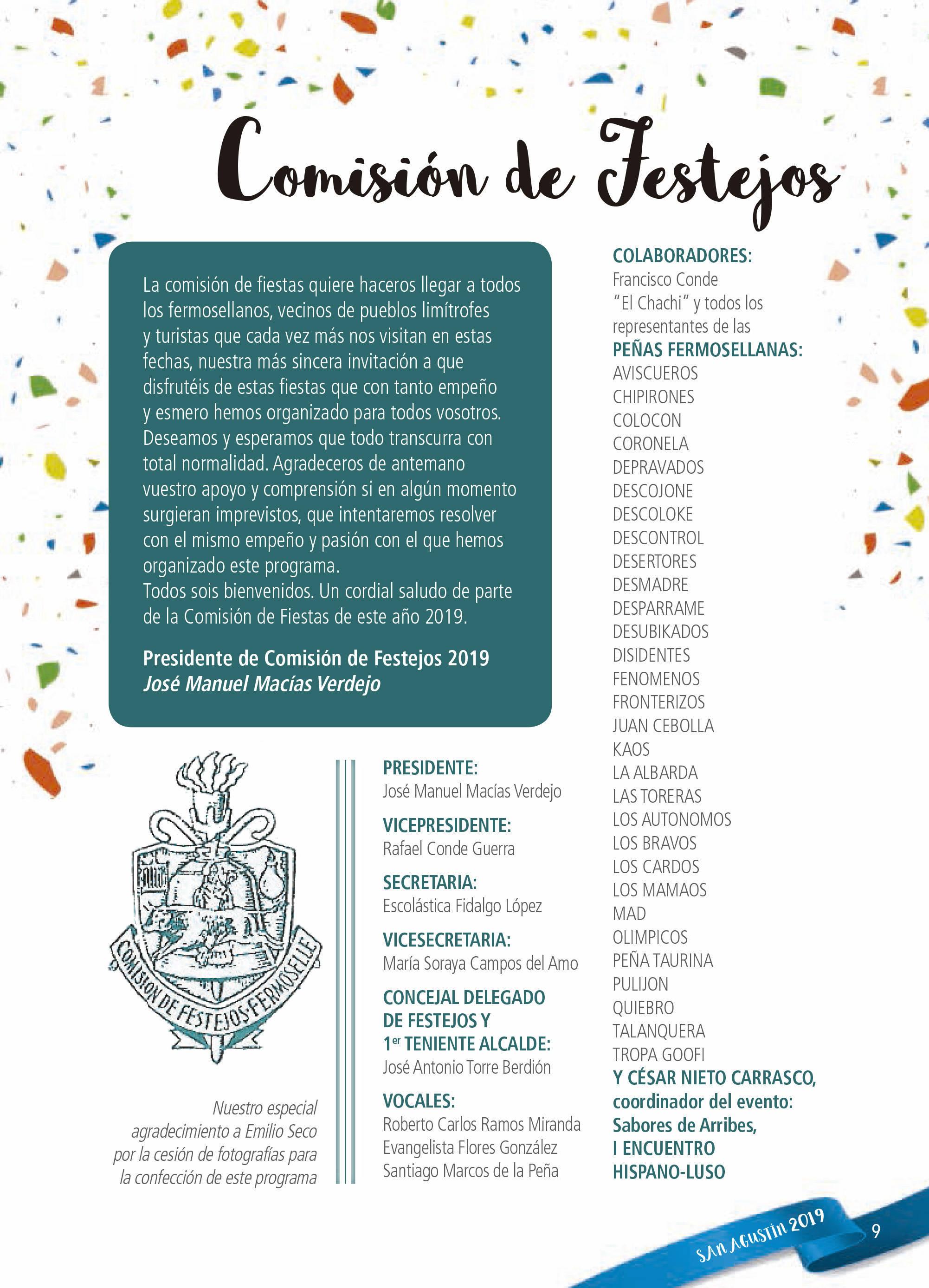 Programa de ferias y fiestas 2019 - Fermoselle (Zamora) 4